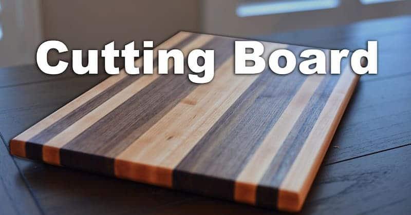 How To Make A Custom Edge Grain Cutting Board | Edge Grain vs End Grain