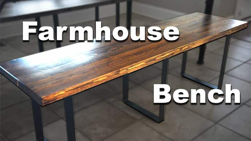 How to Make Cheap & Easy Wooden Benches