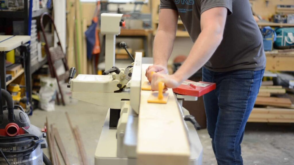 Jointing the lumber