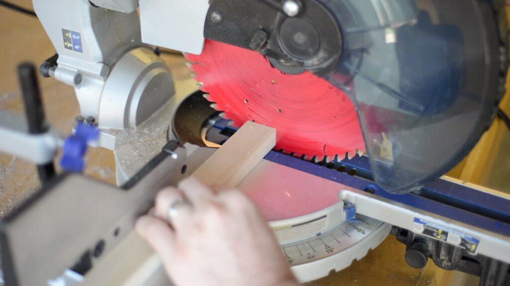 miter saw sliver cut