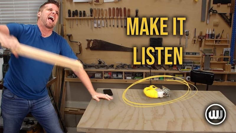 Why Your Jigsaw Isn't Cutting Straight. How to Avoid Wandering, Deflection, and Bevelled Edges.