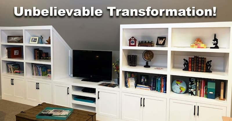 Custom Built-in Cabinets and Bookcases
