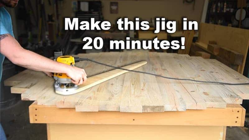 This Circle Cutting Router Jig Only Takes 20 Minutes to Make – How to Cut Out a Round Table Top