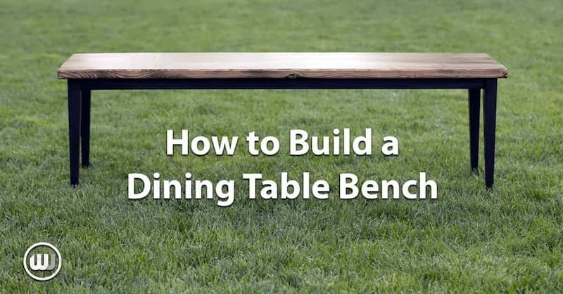 Building New Dining Table Benches (It Was Time)