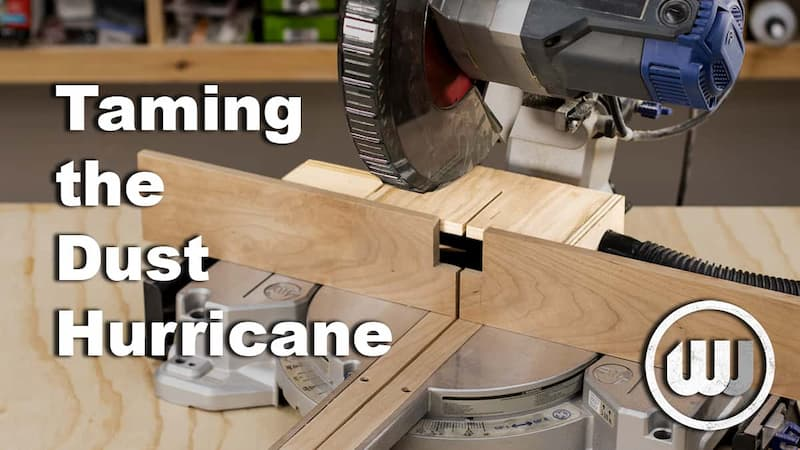 Miter Saw Dust Collection Upgrade
