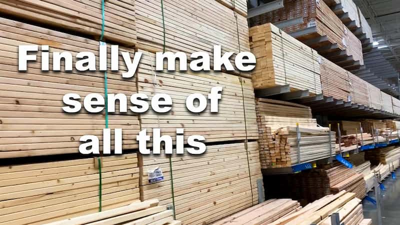 Choosing the Right Wood to Build With