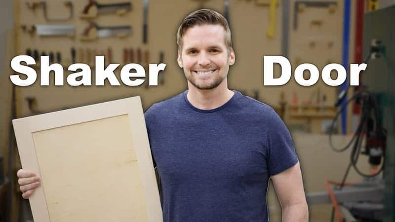 How To Make Shaker Cabinet Doors on the Table Saw
