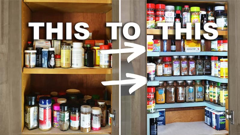 Building DIY Spice Rack Shelves With Only a Jigsaw