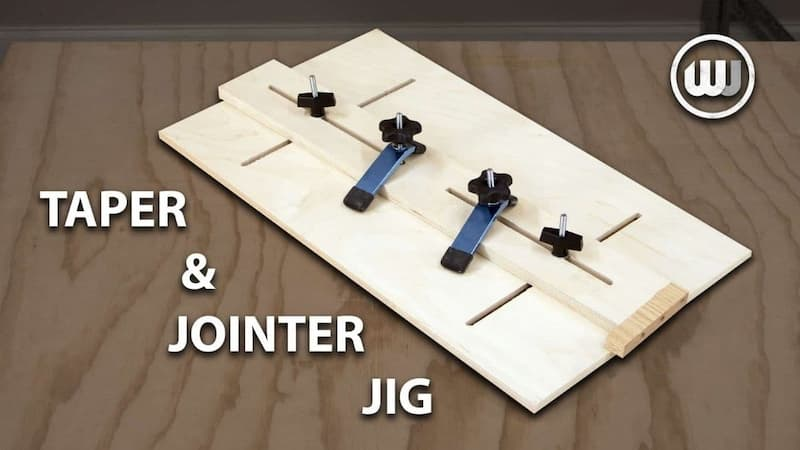 Easy Taper & Jointer Jig for the Table Saw